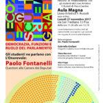 Paolo Fontanelli al Liceo Artistico F. Russoli di Pisa e Cascina